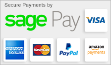 pay securely online with sagepay, paypal, visa and mastercard